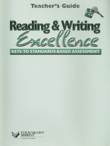 9780739839676: Steck-Vaughn Reading & Writing Excellence: High Sc: Teacher's Guide (Level HS) 2002