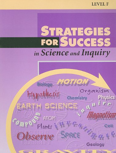 Strategies for Success in Science and Inquiry,: STECK-VAUGHN