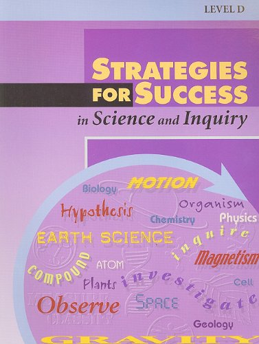 9780739839904: Steck-Vaughn Strategies for Success: Answer Keys (Level D) Science, Science and Inquiry