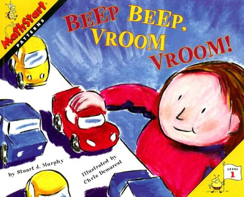 9780739843727: Beep Beep, Vroom Vroom! (Mathstart: Level 1 (HarperCollins Paperback))
