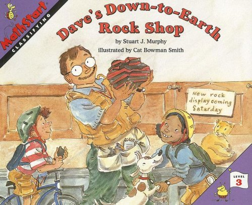 9780739843925: Dave's Down-To-Earth Rock Shop (Mathstart: Level 3 (HarperCollins Paperback))
