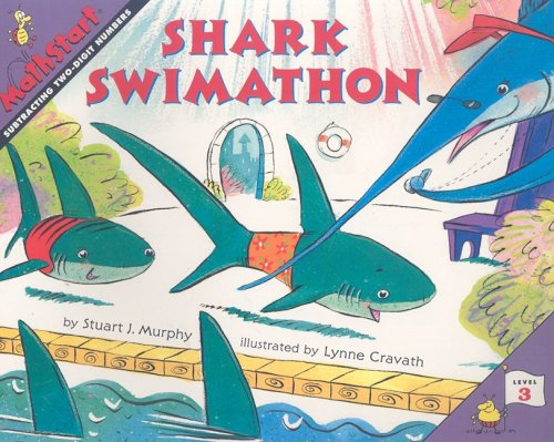 9780739843949: Shark Swimathon: Subtracting Two-Digit Numbers (Mathstart: Level 3 (HarperCollins Paperback))