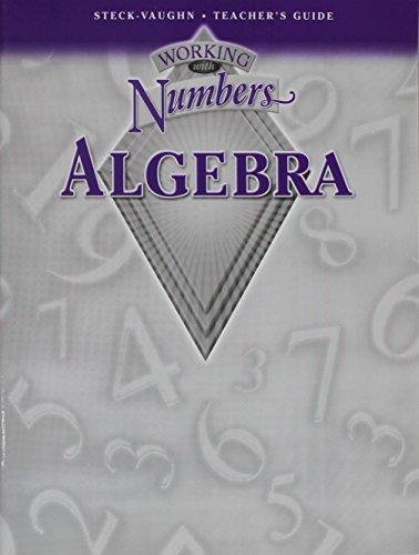 9780739844113: Working with Numbers: Algebra, Teacher's Guide (High School)