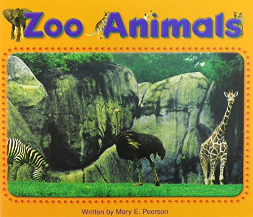 9780739844816: Steck-Vaughn Pair-It Books Foundation: Individual Student Edition Zoo Animals