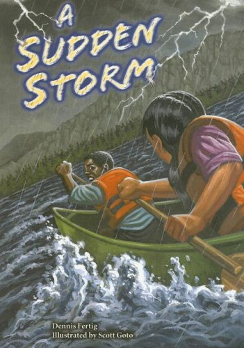 9780739851029: A Sudden Storm (Steck-Vaughn Power Up!)