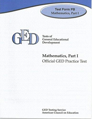 9780739854341: Language Arts, Reading Test Form PB: Official GED Practice Test (GED Practice Tests)