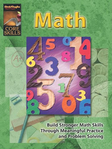 Core Skills: Math: Reproducible Grade 2: STECK-VAUGHN