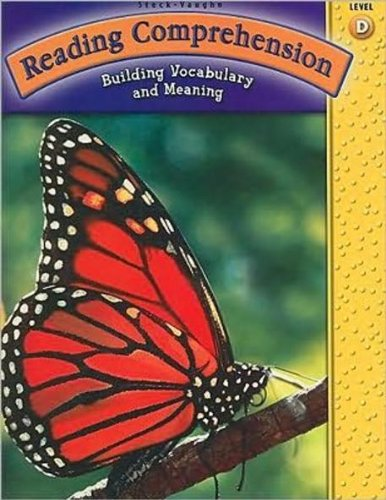 9780739858233: Steck-Vaughn Reading Comprehension: Student Workbook Grade 4 (Level D)