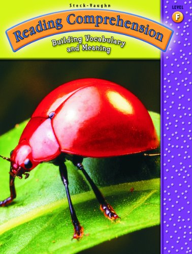 9780739858257: Reading Comprehension: Student Workbook Grade 6 (Level F) (Steck-Vaughn Reading Comprehension)