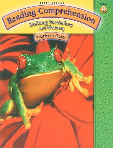 9780739858271: Steck-Vaughn Reading Comprehension: Grade 2 (Level B) 2003 Teacher's Guide