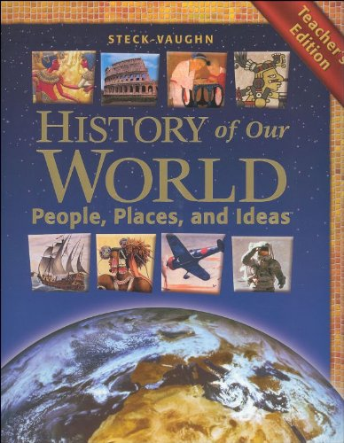 9780739860885: History of Our World: People, Places and Ideas