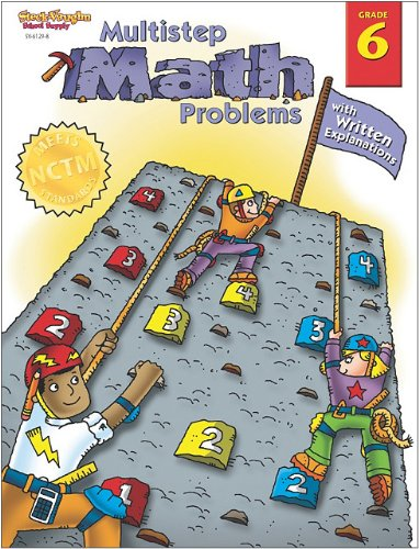 9780739861295: Multistep Math Problems: with Written Explanations, Grade 6