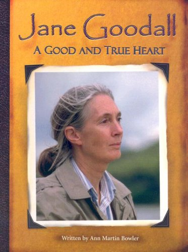 9780739861523: Steck-Vaughn Pair-It Books Proficiency Stage 6: Individual Student Edition Jane Goodall: A Good and True Heart