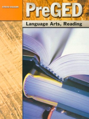 9780739866979: Pre-GED: Student Edition Language Arts, Reading