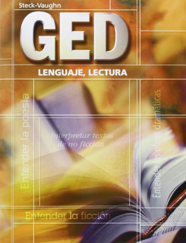 9780739869161: Steck-Vaughn GED, Spanish: Student Edition Lenguaje, Lectura (Spanish Edition)