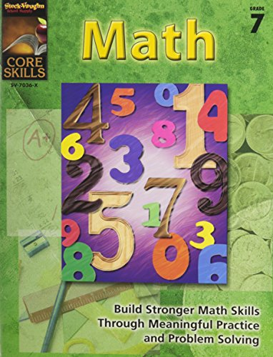 9780739870365: Core Skills: Math: Reproducible Grade 7