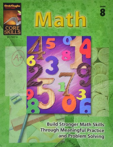 9780739870372: Core Skills: Math: Reproducible Grade 8