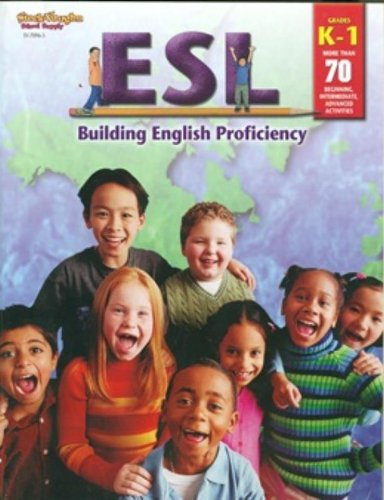 9780739870969: ESL: Building English Proficiency: Reproducible Grades K-1 (Steck-Vaughn School Supply)