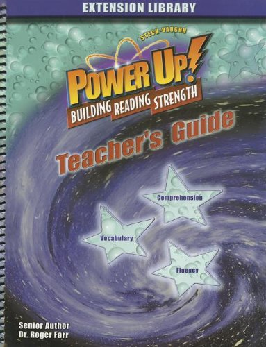 Steck-Vaughn Power Up!: Teacher's Edition (Level 1) 2004 (Power Up Extension): STECK-VAUGHN