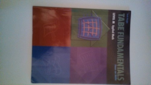 9780739880180: Tabe Fundamentals: Level M Applied Math