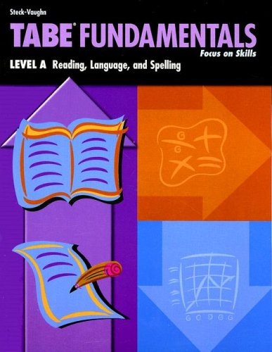 9780739880425: Tabe Fundamentals: Level A: Reading, Language, and Spelling