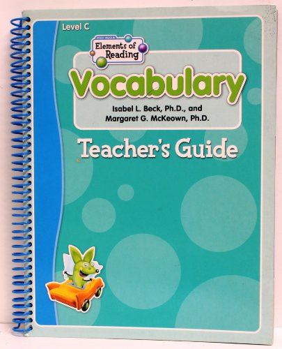 9780739884607: Elements of Reading: Teacher Edition Level C 2004