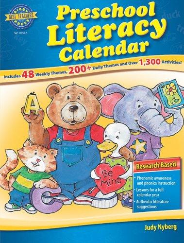 9780739885581: Rigby Best Teacher's Press: Reproducible Preschool Literacy Calendar
