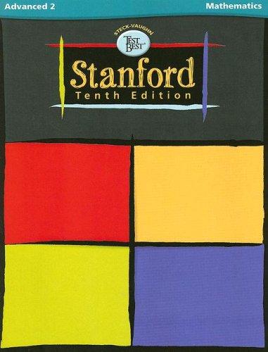 9780739888018: Steck-Vaughn Test Best: Tenth Edition Advanced 2, Mathematics