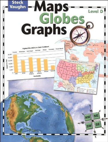 9780739891049: Maps, Globes, Graphs: Student Edition Level D
