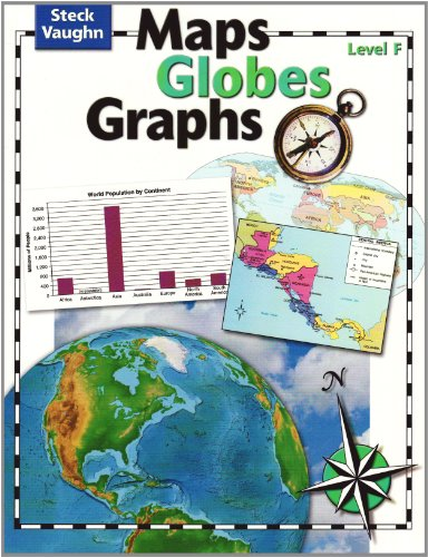 9780739891063: Maps, Globes, Graphs: Student Edition Level F