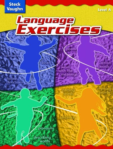 9780739891131: Language Exercises: Level A (Cr Lang Exercise 2004) (Steck-Vaughn Language Exercises)
