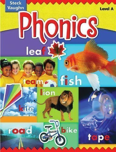 9780739891346: Steck-Vaughn Phonics: Student Edition Level K