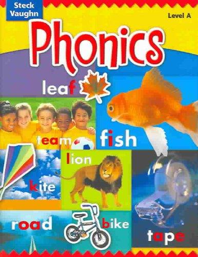 9780739891353: Steck-Vaughn Phonics: Student Edition Level A