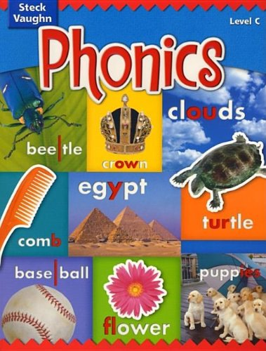 9780739891377: Steck-Vaughn Phonics: Student Edition Level C