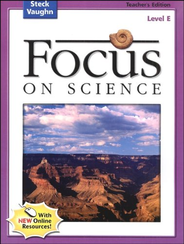 9780739891544: Focus on Science: Teacher's Guide Grade 5 - Level E 2004