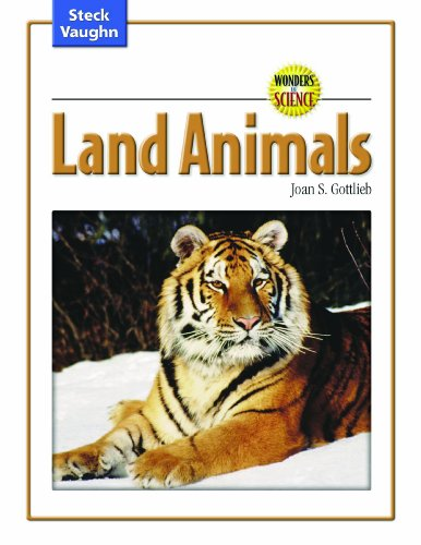 9780739891773: Wonders of Science: Student Edition Land Animals
