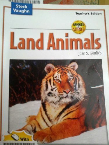 Wonders of Science: Land Animals, Teacher's Edition (0739891839) by Gottlieb