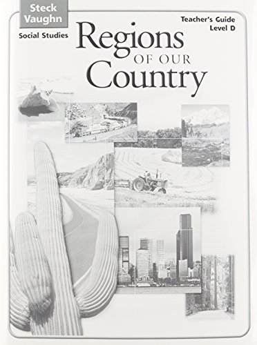9780739892336: Steck-Vaughn Social Studies © 2004: Teachers Guide Regions of Our Country 2004