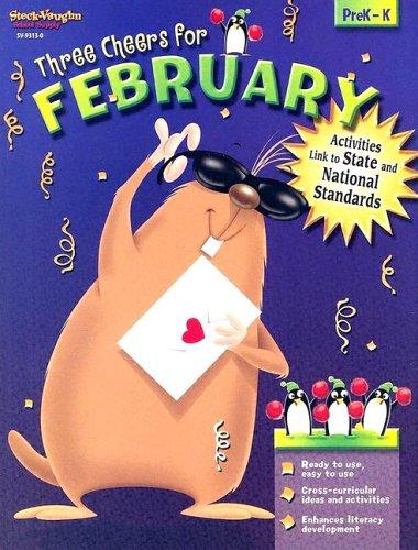 Steck-Vaughn Sensational Seasons: Reproducible February: STECK-VAUGHN