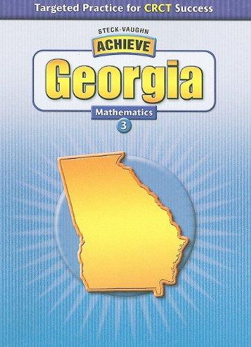 9780739894842: Steck-Vaughn Achieve: Student Reader Grade 3 Mathematics