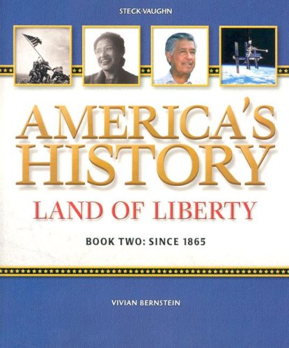 9780739897041: America's History Land of Liberty, Book 2, Since 1865, Student Reader