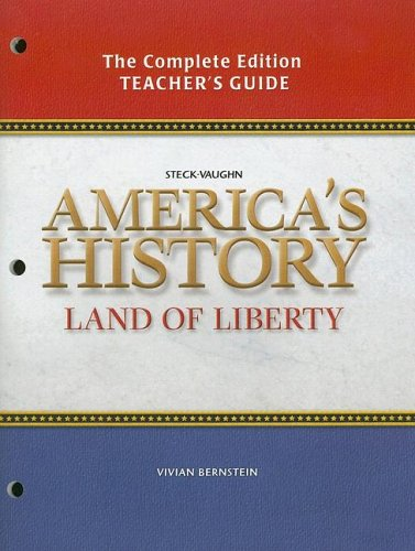 9780739897096: American History Land of Liberty: Teacher's Guide 2006