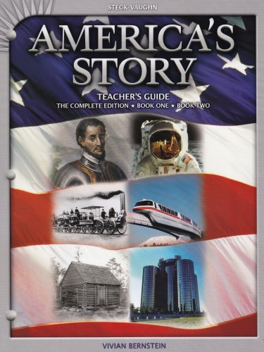 9780739897157: America's Story: The Complete Edition Book 1 Book 2 (Teacher's Guide)