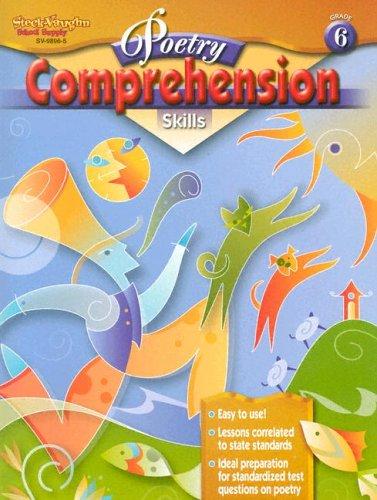 9780739898963: Poetry Comprehension Skills: Reproducible Grade 6