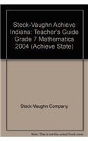 Steck-Vaughn Achieve Indiana: Teacher's Guide Grade 7: Steck-Vaughn Company