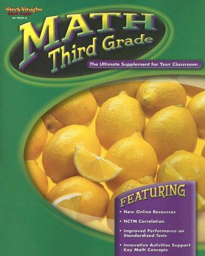 9780739899397: Math Third Grade