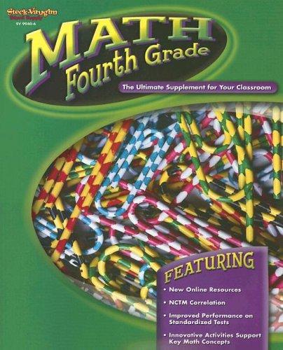9780739899403: Math Fourth Grade