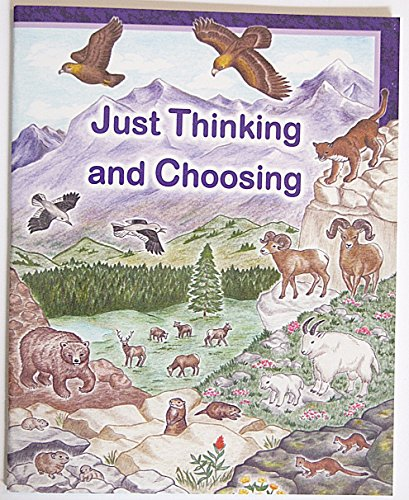 9780739900161: Just Thinking and Choosing Workbook
