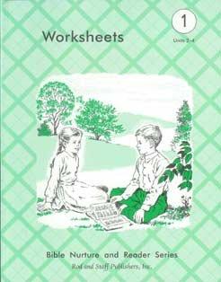 9780739903605: Bible Nature and Reader Series Grade 1 Units 2-4 Worksheets