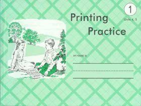 Printing Practice : Units 4, 5 by Amy Herr (1986, Hardcover): Amy Herr